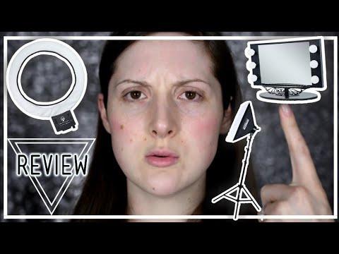 BEAUTY LIGHTING SECRETS YOU NEED IN 2019 | My Makeup Video Setup | Caitlyn Kreklewich thumbnail