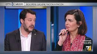 Matteo Salvini (Lega): la Boldrini incapace e razzista, favorisce i migranti fuori controllo