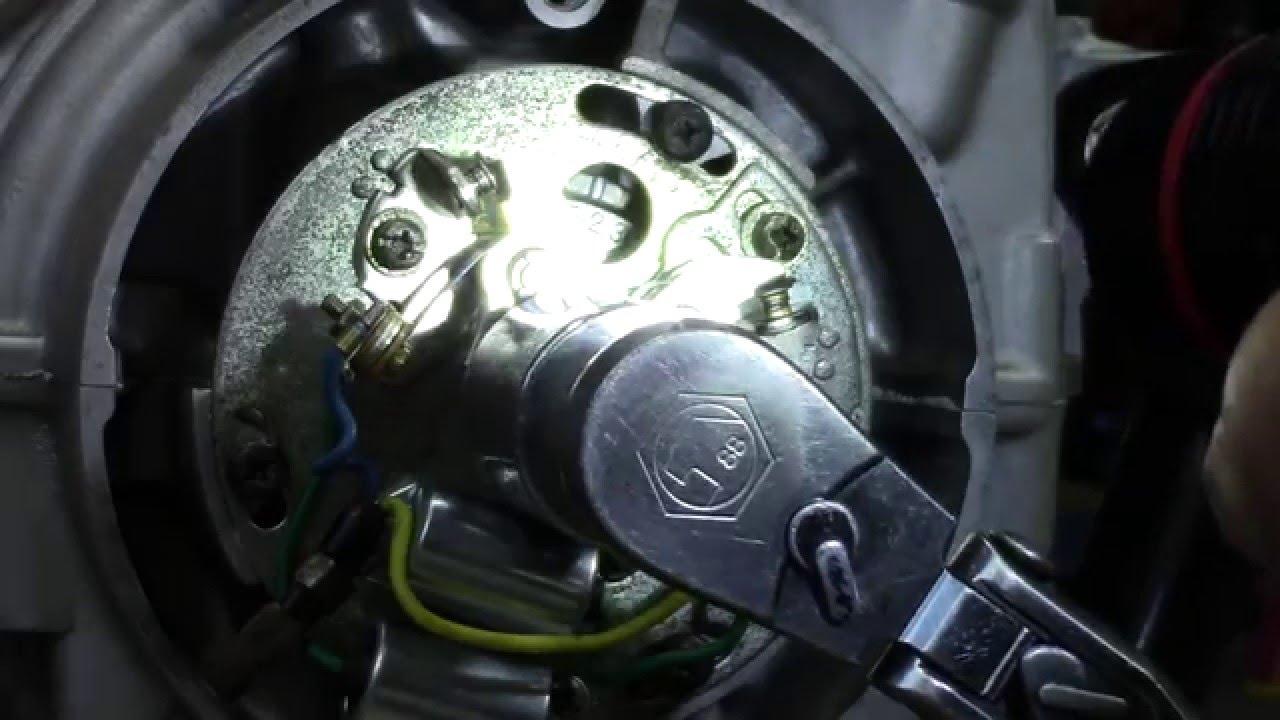 Honda Cb750k Wiring Diagram Electric House 73 Cb750 Custom Build Part 29 Ignition System Install Youtube