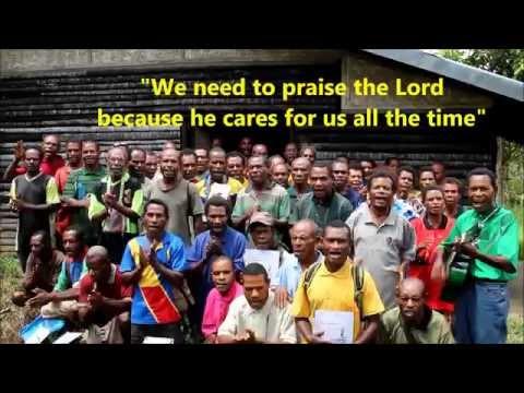 Praising the Lord - Lumi Papua New Guinea