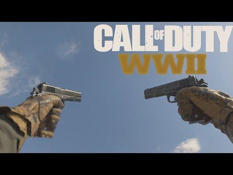 Cod WW2: AKIMBO Pistol Gameplay (Call of Duty WW2)