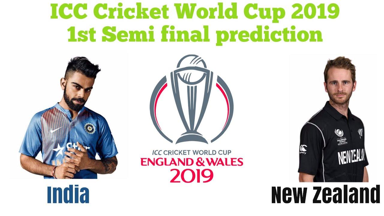 Who Will Win India Vs New Zealand ICC Cricket World Cup 2019 (1st Semi  final) Prediction 9-7-2019