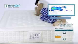 Sleep Test® con colchón Spa Therapy Classic (Javier)