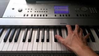 How to play Coldplay - Trouble on piano (Part 2)