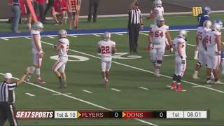 SF Dons vs Dixie Football | November 2, 2018