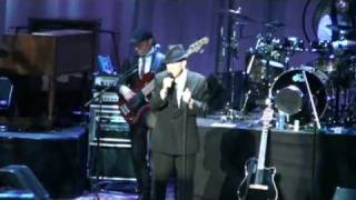 Dublin O2, Lullaby, Leonard Cohen,