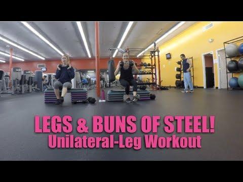Killer Leg Workout  l  Fix Lower Body Muscle Imbalances