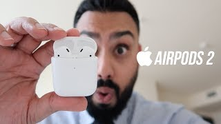 AirPods 2 UNBOXING and REVIEW
