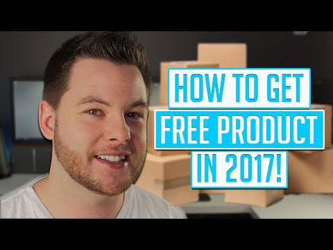 How To Get FREE Product In 2017! [4K]