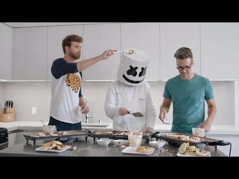 The Ultimate Pancake Cook-off ft. Rhett and Link | Cooking with Marshmello