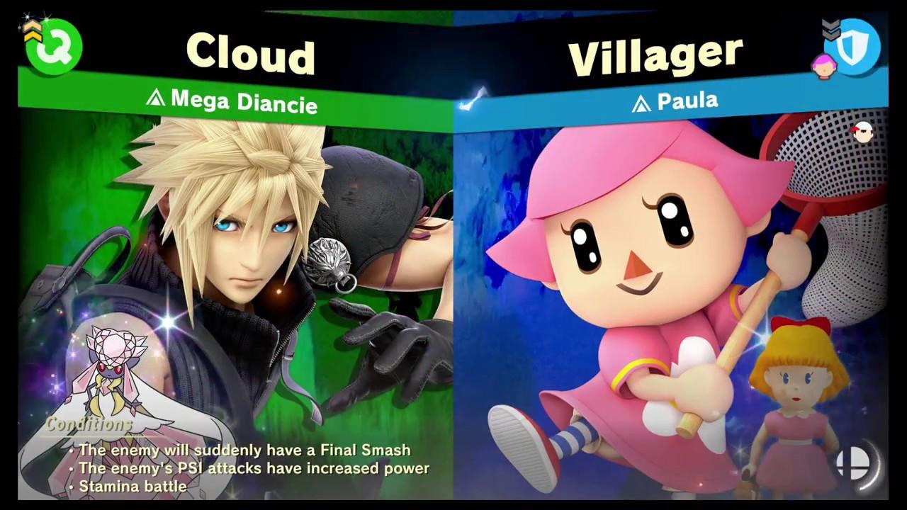 Super Smash Bros Ultimate -[Legend Spirit] Paula
