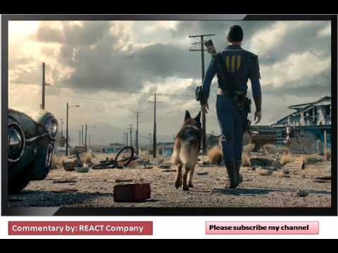 Fallout 4 - The Wanderer Trailer HD : REACT Company