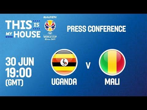 Uganda v Mali - Press Conference - FIBA Basketball World Cup 2019