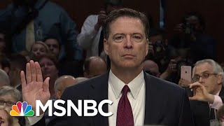 Fmr FBI Official: DOJ Ruling Reveals Comey Did Not Break The Law   The Beat With Ari Melber   MSNBC