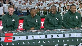 Gambar cover How well do Michigan State players know each other? | College GameDay