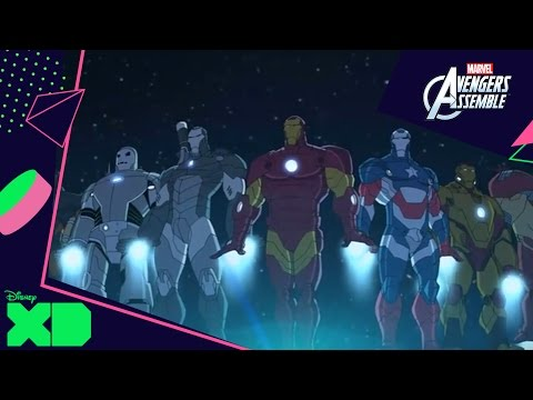 Avengers Assemble | Team Iron Man | Disney XD NL