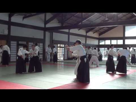 Aikido lecture in Iwama part 1