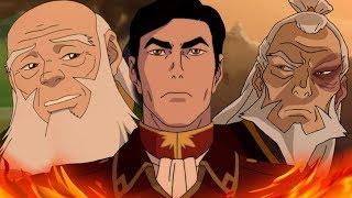 Внук Зуко будет новым хозяином огня?Сила Генерала Айро из Мультсериал Аватар Легенда об Аанге/Корре