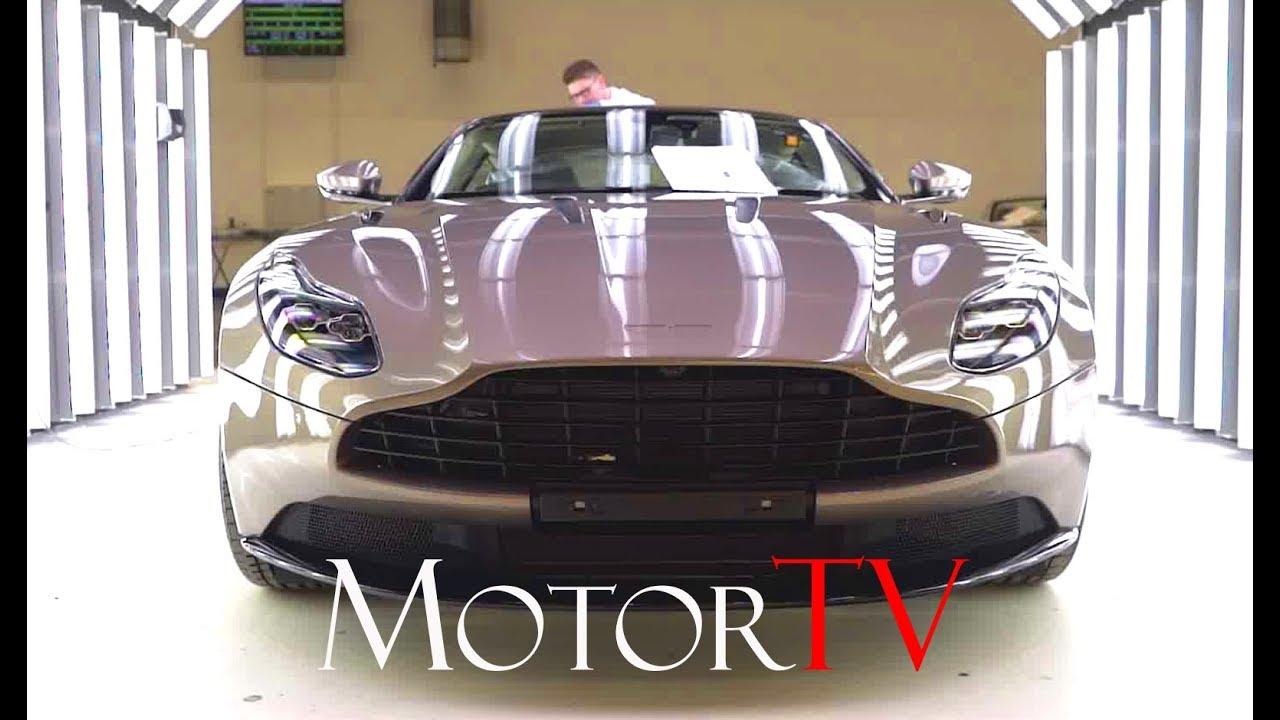 Car Factory 2018 Aston Martin Db11 Production Line L Gaydon Plant Uk Youtube