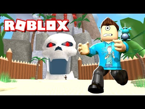 ESCAPE TREASURE ISLAND OBBY IN ROBLOX! | MicroGuardian