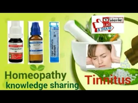 Homeopathic medicine for tinnitus | explain by Dr-Abdul