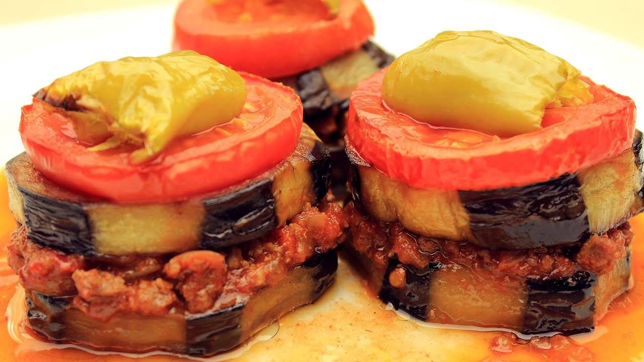 Recipes for hamburger meat and eggplant