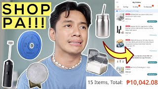 "Huge Lazada Haul! (Home Essentials + ""Tito Finds"" + Fashion + Mema Lang!)"