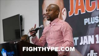 FLOYD MAYWEATHER GIVES MAJOR PROPS TO PAULIE MALIGNAGGI FOR COMMENTATING SKILLS