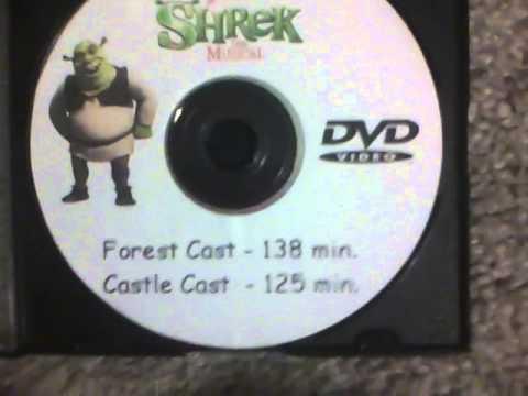 FREE Players Shrek The Musical 2014 DVD
