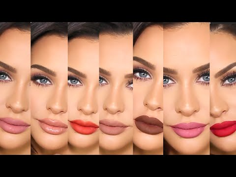 First Impressions +Lip Swatches   KYLIE LIPKIT & GLOSSES