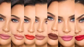 First Impressions +Lip Swatches | KYLIE LIPKIT & GLOSSES