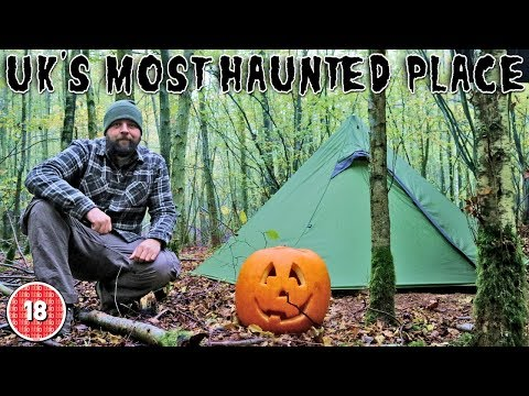 Wild Camping In UK's MOST HAUNTED Place: SCREAMING WOODS, Pluckley