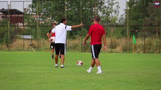 Pre-Match training