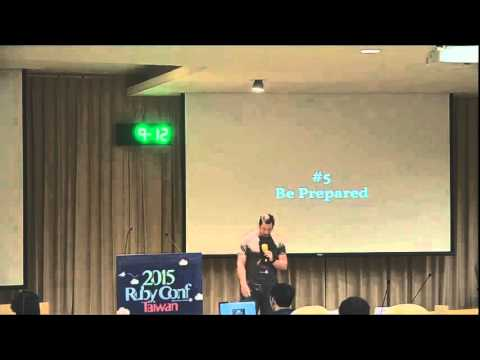 RubyConf Taiwan 2015 Day2 R2 04 Don Werve:Maker to Manager