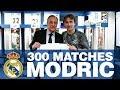 LUKA MODRIC, 300 Real Madrid matches!
