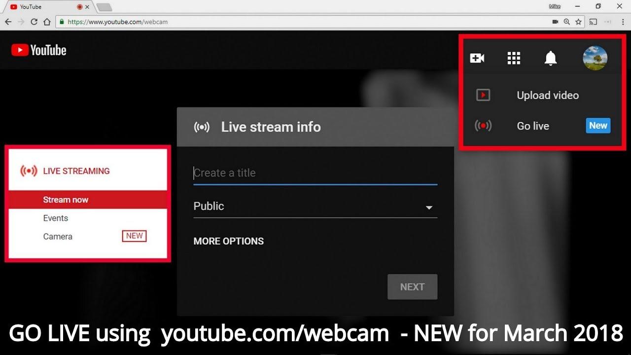 Youtube Com Webcam