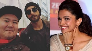 Ranveer Singh Celebrating Valentine Week With Deepika Padukone In Toronto
