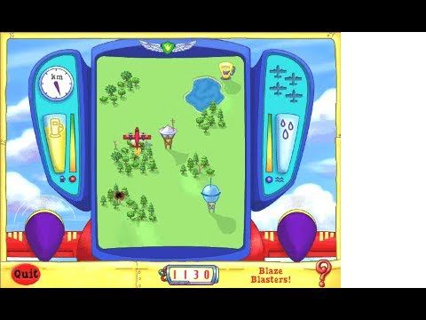Scholastic's The Magic School Bus Discovers Flight Activity Center (Windows game 2001)