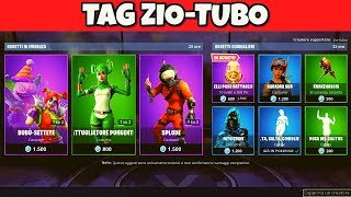 FORTNITE SHOP OF TODAY 6 JULY SKIN BUBU SETTETE, NIGHT, PUNGENT PATROL AND SPLODE