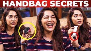 WOW: Cute Comb in VJ Ramya Handbag | What's Inside the HANDBAG