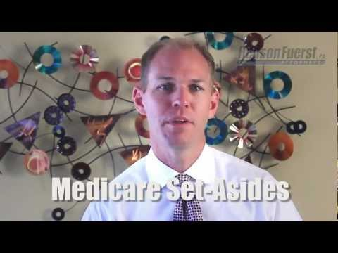 "If you have a settlement from a workers' compensation or personal injury lawsuit, and if you have Medicare (or expect to be eligible within 18 months), you should be aware of a new legal concept called ""Medicare Set-Asides."" This requires people to set aside a certain amount of money from their settlement funds, to be used for the purpose of paying for future medical treatment.  Medicare Set-Asides are complex, and if calculated improperly, can be costly. The best way to navigate these complicated legal waters is to have an experienced lawyer at your side. In this video, David Henson, managing partner of HensonFuerst Attorneys, discusses the details of Medicare Set-Asides, and why you need to be mindful of them.  For more information about many other legal issues related to workers' compensation or personal injury, please visit our website at http://www.lawmed.com/. And don't forget to watch our other videos at http://www.youtube.com/hensonfuerst/. Principal Office of Henson & Fuerst, PA: 2501 Blue Ridge Road, Raleigh, NC 27607"