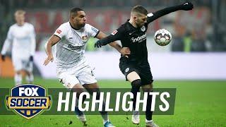 Eintracht Frankfurt vs. Bayer Leverkusen | 2018-19 Bundesliga Highlights