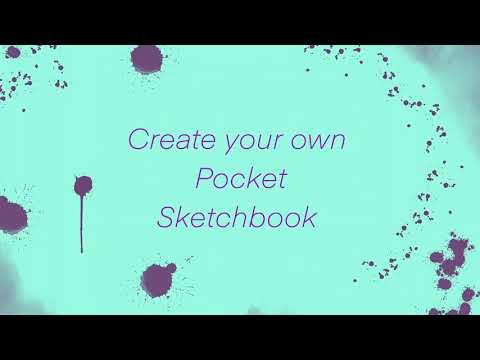 SIMPLE DIY: pocket/travel sketchbook