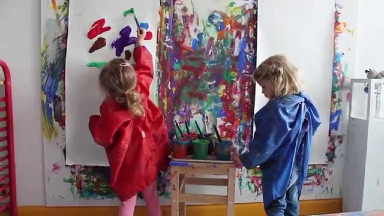 Das atelier teil i in der kita kindergarten youtube for Raumgestaltung in der krippe