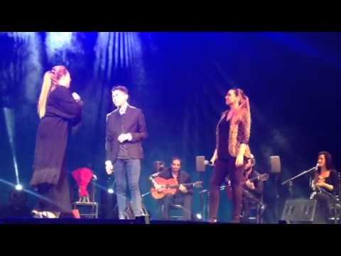 Niña Pastori Málaga quiero Que me beses,Mara Rey y Jose