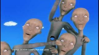卒業制作 クモの糸 spider s thread cg animated short film 総合電子専門学校