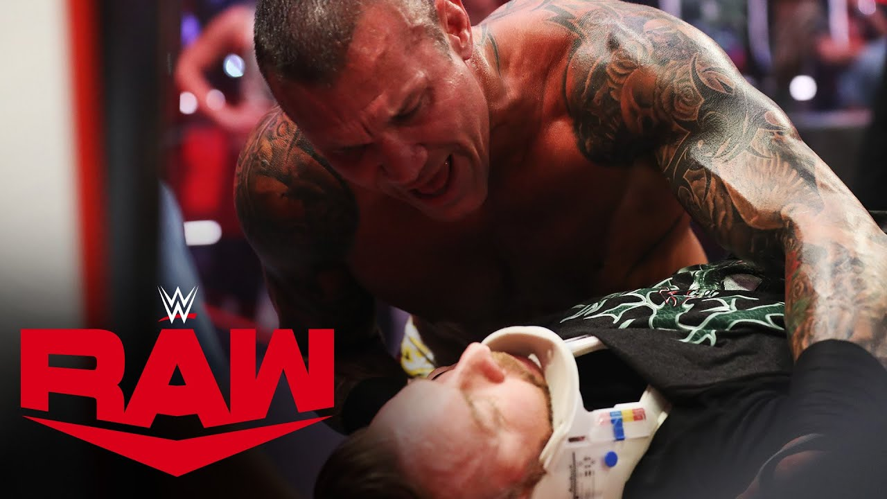 Christian receives medical attention after Orton's attack: WWE Network Exclusive, June 15, 2020