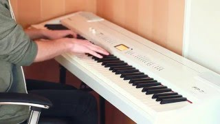 """Piano tribute to David Bowie, """"Life On Mars?"""", played by Joel Sandberg"""