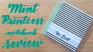 Review | Mint Printcess Notebook