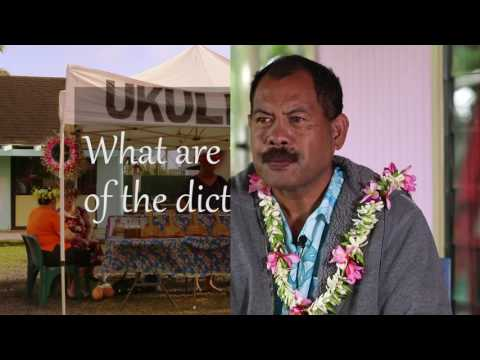 Dictionary of Cook Islands Languages - Mitiaro: An Interview